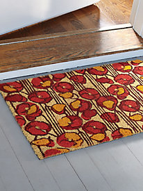 Poppies Coir Doormat