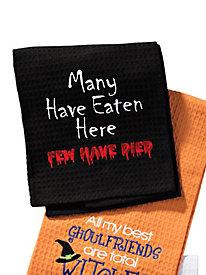Halloween Kitchen Towels