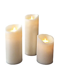 Small Mystique Ivory Pillar Candle