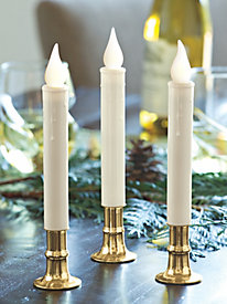 Battery-Powered Candles (set of 3)