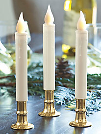 Electric Timer Candles (set of 3)