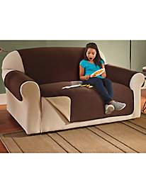 Waterproof Fleece Loveseat Cover (88-in.x75�-in.)