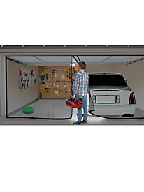 Double Garage Door Screen