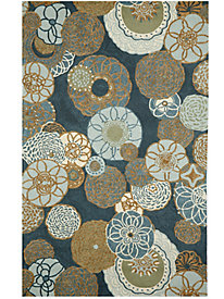 Disco Flowers Indoor/Outdoor Rug