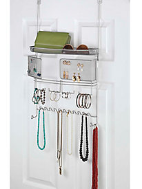 Over-Door Jewelry & Accessory Organizer