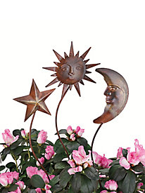 Decorative Garden Stakes (set of 3)