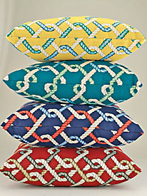 Rope Links Indoor/Outdoor Pillow