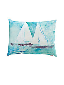 Sail On Indoor/Outdoor Pillow