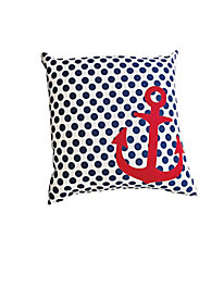 Up Anchor Indoor/Outdoor Pillow