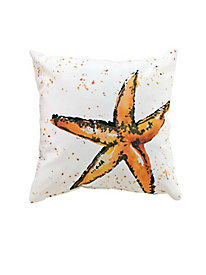 Starfish Indoor/Outdoor Pillow