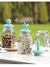 Coastal Storage Canisters (set of 3)