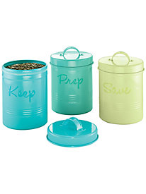 Retro Storage Canisters (set of 3)