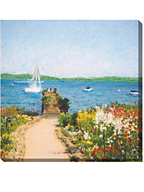 Ready to Enjoy Outdoor Canvas Print