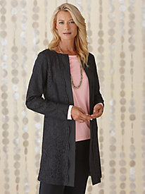 Lace Topper Jacket @...