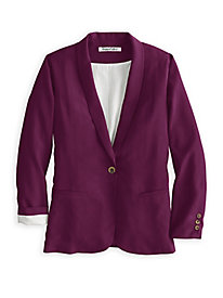 Washable Silk Fuji Blazer