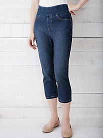 EASY-ON Denim Crop Pant