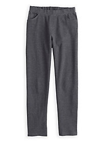 Ponte Knit Pull-on Pant