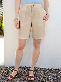 Silk Linen Easy-On Short
