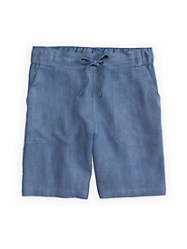 Tencel® Easy-On Short in Chambray