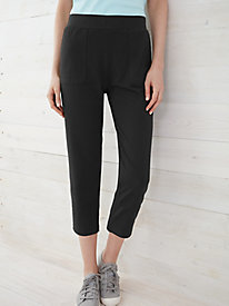 Easy-On Relaxed Pull-on Crop Pant