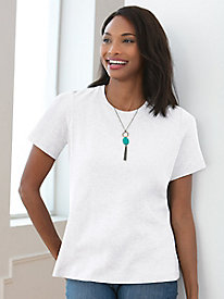 Pima Cotton Short Sleeve Crewneck Tee