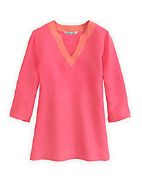 Silk Linen 3/4-Sleeve Tunic