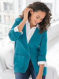 Favorite Silk Cotton Cardigan