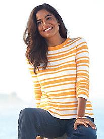Pure Cotton Stripe Sweater