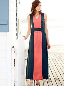 Colorblock Maxi Dress...