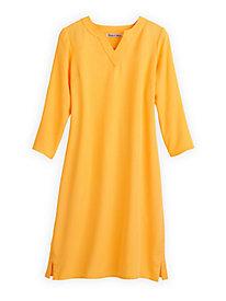 Tencel® 3/4-Sleeve Pullover Dress
