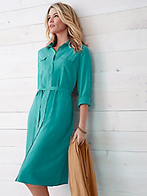 PerfectSilk Shirtdress