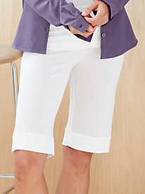 Lightweight Washable Silk Above-Knee Shortie