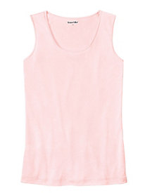 Ladies' Scoop Tank in Heavyweight Washable Silk