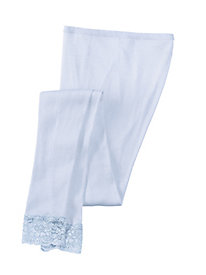 Mid-weight Ribbed Silk Cotton Base Layer Pant