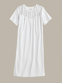 Stretch Knit Nightgown...