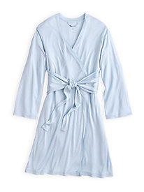 Knee-length Robe in Mid-weight Silk Modal