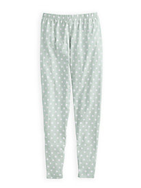 Sleep Legging Pant in Stretch Cotton Modal Knit