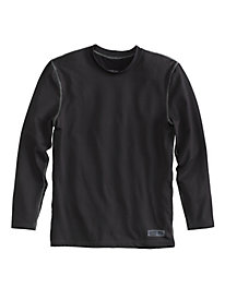 Men's Polarmax® Heavyweight Topstitch Long Sleeve Crew