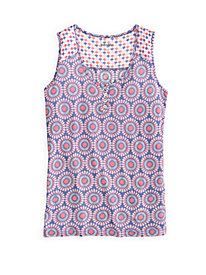 Sleeveless Sleep Top in Mid-weight Silk Modal
