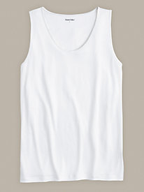 Men's Undershirt Tank in Mid-Weight Washable Silk