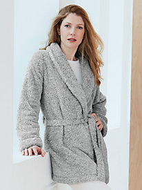 Super Plush Above-Knee Robe