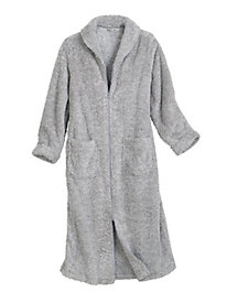 Super Plush Long Zip Robe