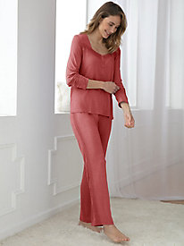 Long-Sleeve Pajama Set