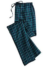 Charmeuse Plaid Pajama Pant