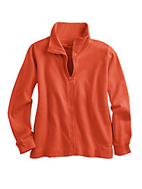 ForeverSoft Fleece Long Sleeve Zip Jacket