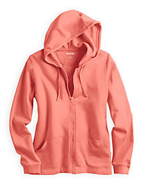 ForeverSoft Fleece Long Sleeve Hooded Jacket