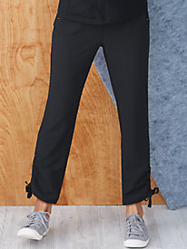 Stretch Weave Cinch Pant