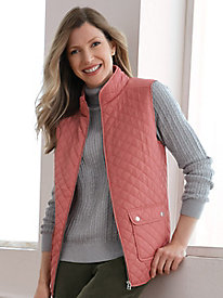 Quilted Lightweight Vest