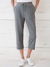 Easy-On Capri Pant in French Terry