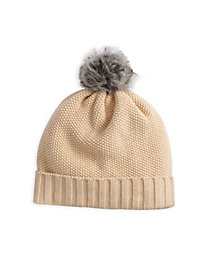 Textured Cotton Silk Hat